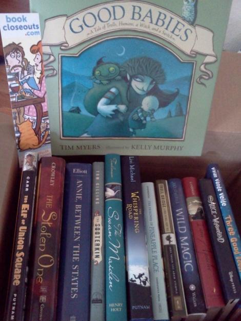 My Books Arrived!!!