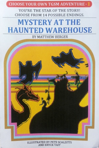 mystery at the haunted warehouse-front