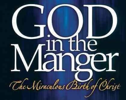 God in the Manger - Banner